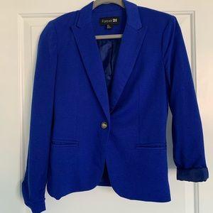 F21 Blue Blazer